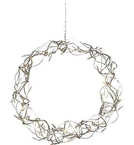 Star Trading 690-12 - Iluminación decorativa (Blanco cálido, Plata, IP20, Interior, 30 cm, 6 cm)