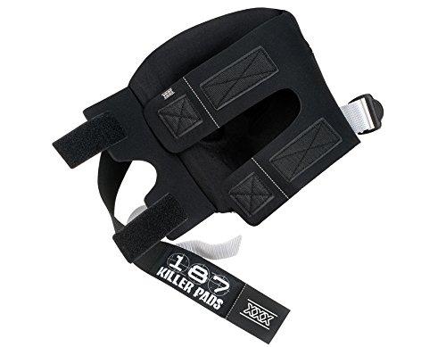 187 Killer Pads Pro Knee Pads - Black/Black - Large by 187 Killer Pads (Image #4)
