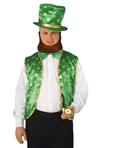 Faerynicethings Adult Size Leprechaun Costume Kit - St Patrick Day for The Luck of The Irish
