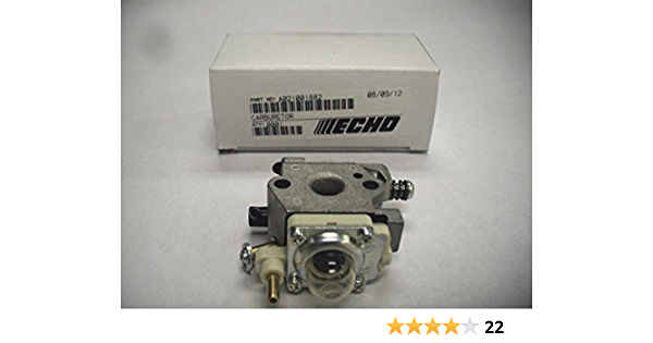 SDFDS Carburateur Carb Kit Compatible for Echo WTA-33 PB-250 Puissance du Ventilateur A021001881 A021001882 Primer Ampoules Bougie Durable 120