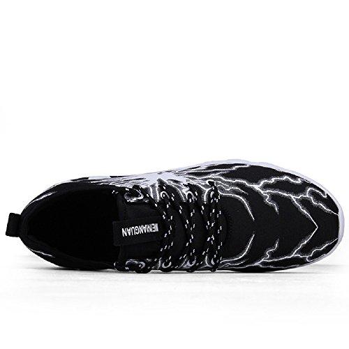 Baskets 5 Outdoor Gris Gym Chaussures Fitness 43 Noir De Running Adulte Eur Sneakers Lanchengjieneng Course Multisports 1 Zx4qX4f
