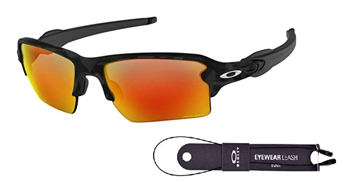 b4298f9669 Oakley Flak 2.0 XL OO9188 918886 59M Black Camo Prizm Ruby Sunglasses+BUNDLE  with