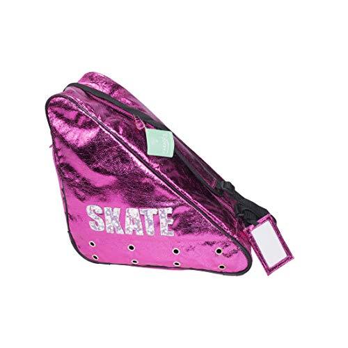 Paradice Skates Deluxe Bag, Ice or in line Skate Bag (Pink Skate) ()