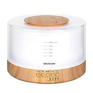 MUSON 加湿器/アロマディフューザー 超音波式