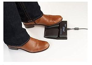 Kinesis Savant Elite2 Programmable USB Foot Pedal (FP20A- Dual Pedal) by Kinesis