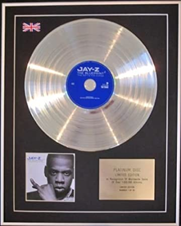 Amazon jay z limited edition cd platinum disc the blueprint jay z limited edition cd platinum disc the blueprint 2 malvernweather Gallery