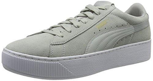 gray 03 Gray Gris Puma Vikky Zapatillas Platform para Violet Mujer Violet Y8vPYq