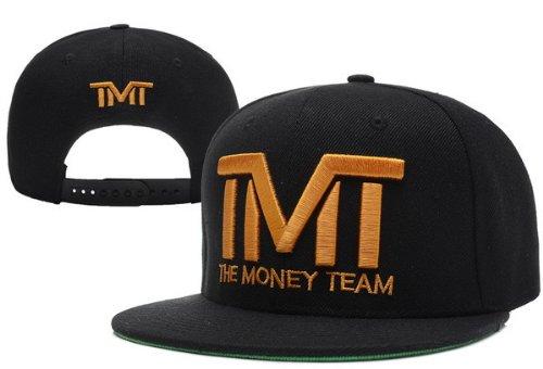 TMT Courtside El Equipo Dinero Snapback CAP Negro: Amazon.es ...