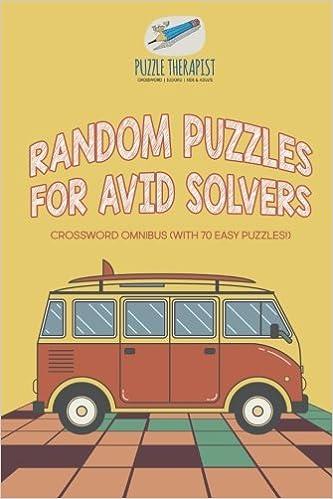 random puzzles for avid solvers crossword omnibus with 70 easy