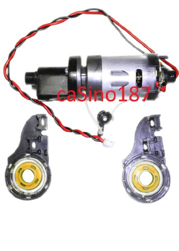 irobot Roomba 400 Discovery Brush Motor and Gearbox. Dirt Dog Scheduler 405 415 4110 4220 4210 4230 435 440 etc (Dog Irobot Dirt)