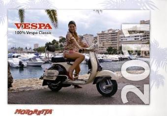 Vespa Classics Kalender 2011