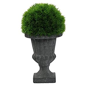 Admired By Nature Ntrl Faux Tyme Topiary with in Urn, Small, Green 59