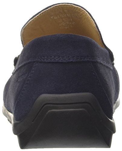 002A01 Uomo Loafer Leman Mocassini Lumberjack Blu Blue Navy 76gqAPx