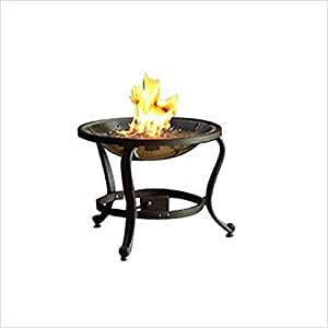 The Outdoor GreatRoom Company Tripod Fire Pit with Crystal Fire Burner