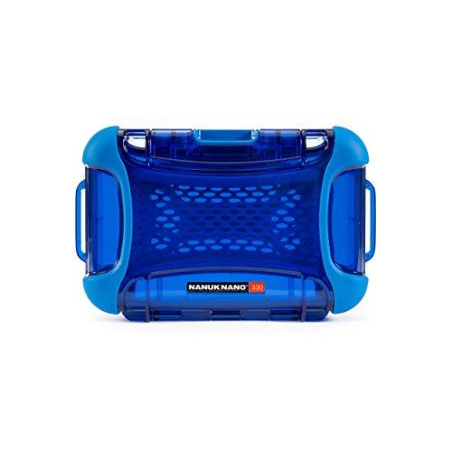 Nanuk 330-0008 Nano Series Waterproof Large Hard Case for Phones, Cameras and Electronics(Blue)