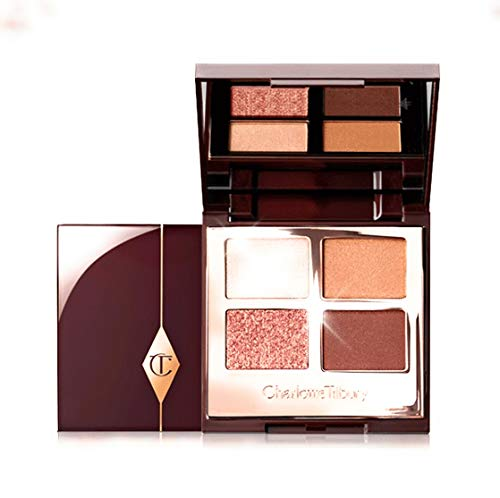 Charlotte Tilbury LUXURY PALETTE in DREAMGASM. Eyeshadow palette with champagne, copper-bronze and rose-gold shades. Limited edition