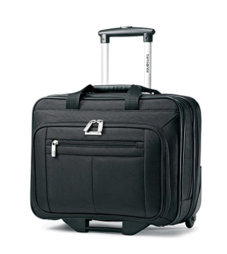 Samsonite Casual Wheeled Laptop Overnighter (one size, Black) (Case Notebook Ballistic Samsonite Rolling)