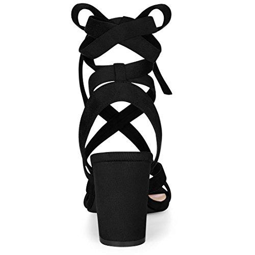 K Femme Allegra Sandales Allegra Noir K 1Eaw7q5