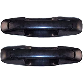 1999 2004 Chevy Tracker Front OR Rear Black Outside Outer Exterior Door Handle Pair Set