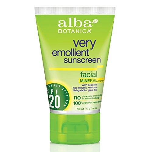 Alba Botanica Mineralische Sonnencreme für das Gesicht SPF#20120 ml