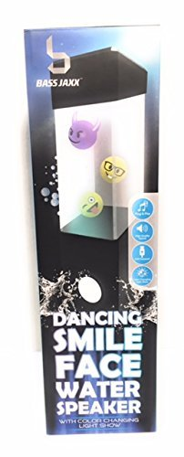 Dancing Smile Face水スピーカーwith Color Changing Light Show B076Z42CQQ