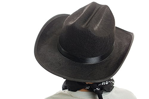 Aeromax Junior Cowboy Hat with Bandanna, Black - http://coolthings.us