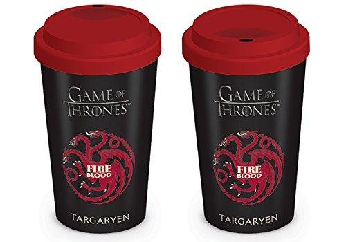 Game Of Thrones House Targaryen Travel Mug, Multi-colour