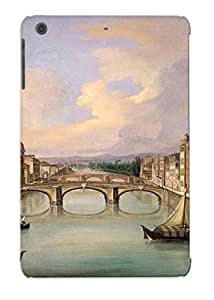 Exultantor High Quality Shock Absorbing Case For Ipad Mini/mini 2-florence From The Ponte Vecchio