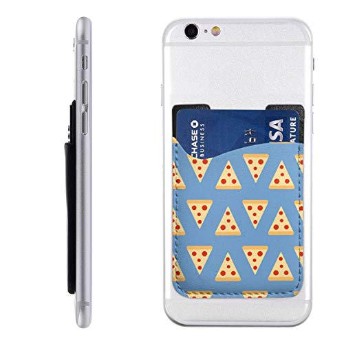 Bkabaouy88 Food Wallpaper Tumblr PU Slim Wallet,Ultra Thin Stick-On Silicone Credit Card Holder Sticker Adhesive Cell Phone Wallet Compatible for Most Smartphones 2.43.5in (Best Wallpapers For Lg G2)