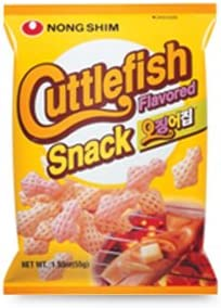 543e33a70107 Nong Shim Cuttlefish Flavoured Snack 55g. Back. Double-tap to zoom
