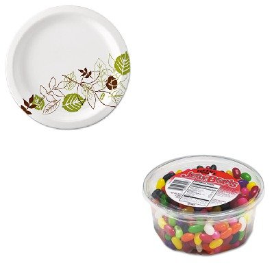 KITDXEUX9WSPKOFX70013 - Value Kit - Office Snax Jelly Beans