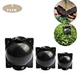3PCS Plant Rooting Device, Plant Rooter Pot, High Pressure Grafting Ball Boxes, Garden Fertilizers Box, Growing Breeding Case, Grafting Botany Root Controller For Roses, Trees, Fruit Bushes
