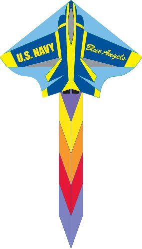 HQ 48-Inch Simple Flyer Kite (Blue Angel) by HQ Kites and Designs