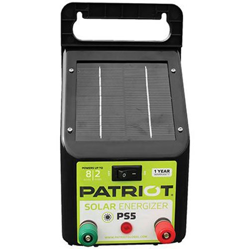 Patriot PS5 Solar Energizer, 0.04 Joule