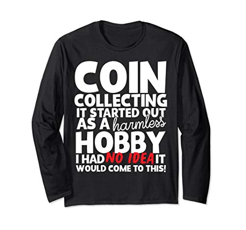 Coin Collecting Long-Sleeve-Tee