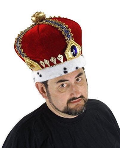 elope Royal King Hat Deluxe Royal Kings Crown