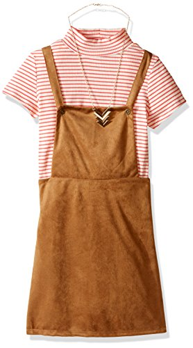 brown and coral dresses - 8