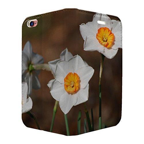 Narzisse Flower Full Case Flip Cover für Apple iPhone 6–6S–S3319