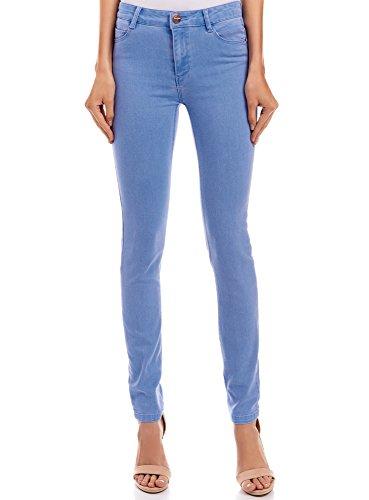 oodji Ultra Fit Jean Slim Femme Bleu Basique 7000w gSgx4Bw