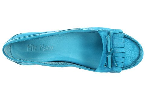 5 Medium Women's US Shoe B 40 Women's Mooz Indigo Boat 9 Blue Miz Zq7v84w