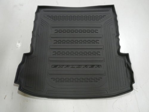 Oem Factory Stock Genuine 2011 2012 2013 2014 2015 Ford Explorer Black Rear Back Cargo Weather Liner Mat Weather Cargo Mats