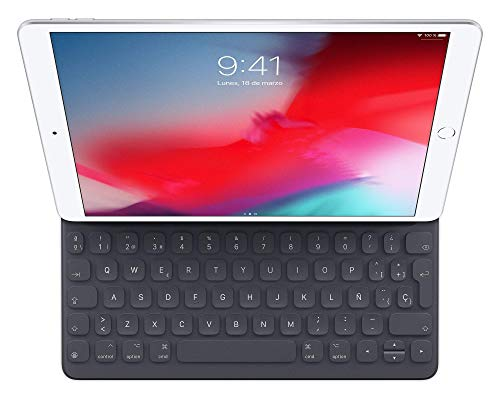 Apple Smart Keyboard (para el iPad de 10,2 pulgadas, el iPad Air de 10,5 pulgadas, el iPad Pro de 10,5 pulgadas…