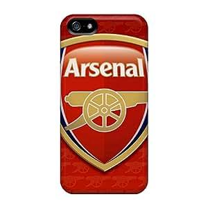 NataliaKrause Iphone 5/5s Protector Hard Phone Covers Customized Vivid Arsenal Series [QHR14088xGOr]