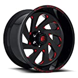 20x12 Fuel Offroad Wheels Vortex D638 8x170-44 Offset 125.1 Centerbore - Gloss Red | P# D63820201747 | WHEELS ONLY | NEW | AUTHORIZED DEALER