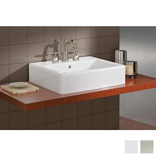 Cheviot 1230/23-WH-1/575-BN - 23 5/8'' x 19 11/16'' x 38 3/4'' , Total height and height of towel bar are adjustable. Fireclay Sink with Brass Console Legs , With Overflow Hole by Cheviot
