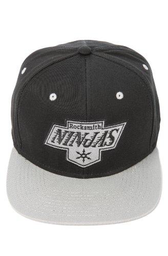 de hombre para Rocksmith béisbol única talla regulable Gorra Negro Negro 5wZB4