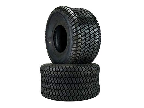 Autoforever Set of 2 20X10.00-8/20x10x8 4 Ply Turf Tires for Lawn & Garden Mower Tires