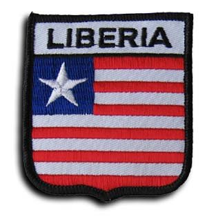 Liberia - Shield Patch