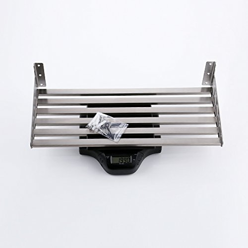 KES 24-Inch Kitchen Wall Mount Pot Pan Rack Wall Shelf SUS 304 Stainless Steel Rustproof Brushed Finish, KUR206S60-2