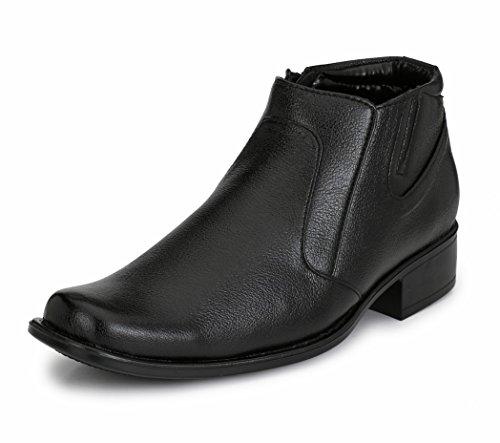 Mactree Men's Premium Mid Top Zipper Formal Shoes 45210